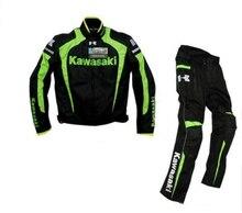 KAWASAKI Cobertura Coleções/Oxford jaqueta/motocicleta equitação jaquetas e coletes À Prova de Vento/calças/vestido roupas Quentes