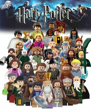 For Harri Figures Botters McGonagall Sirius Orion Hagrid Dobby Snape Dumbledore Ron Hermione Voldemor Model building Blocks Toys(China)