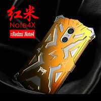 New Arrived Brand Simon Metal Bumper For Redmi Note 4 THOR IRONMAN Shockproof Frame Anti Knock