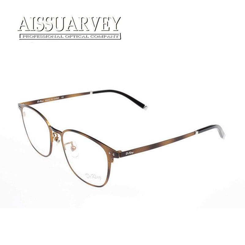 1e379a90a34 Round metal frame glasses titanium eyeglasses rimless prescription online  vintage spectacle frames oculos de sol antistress