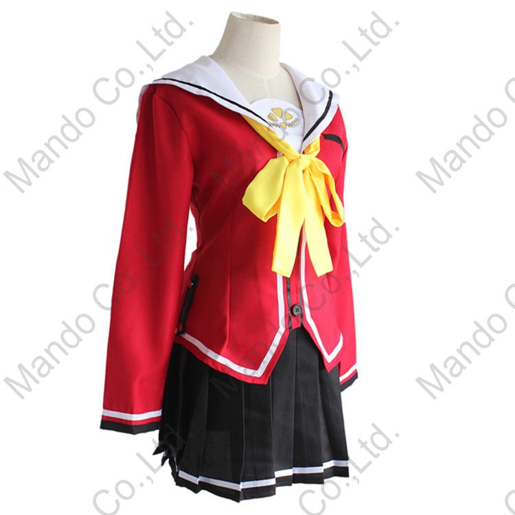 Japanese Anime Charlotte Tomori Nao Cosplay Costume Uniforms Beautiful Hot Sale Dress Back To Search Resultsnovelty & Special Use Anime Costumes
