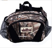 Hunting bag Tactical waist pack outdoor CLIMBING FISHING bionic camouflage bag 1200D Free shipping