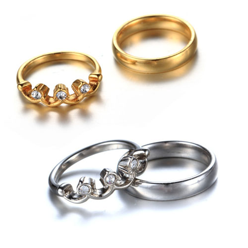 Online Buy Wholesale king and queen wedding ring set from China