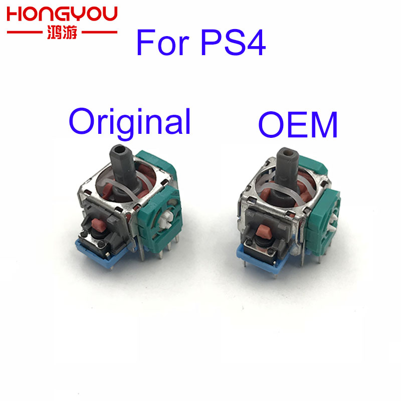 10pcs 3D Potentiometer Joy Stick Analog Axis Joystick Module For Sony Playstation4 PS4 Gamepad For PS 4 Slim Pro Contoller