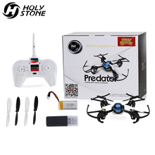 Holy Stone HS170 Predator Mini RC Helicopter Drone 2.4Ghz 6-Axis Gyro 4 Channels Quadcopter Good Choice for Dron Training