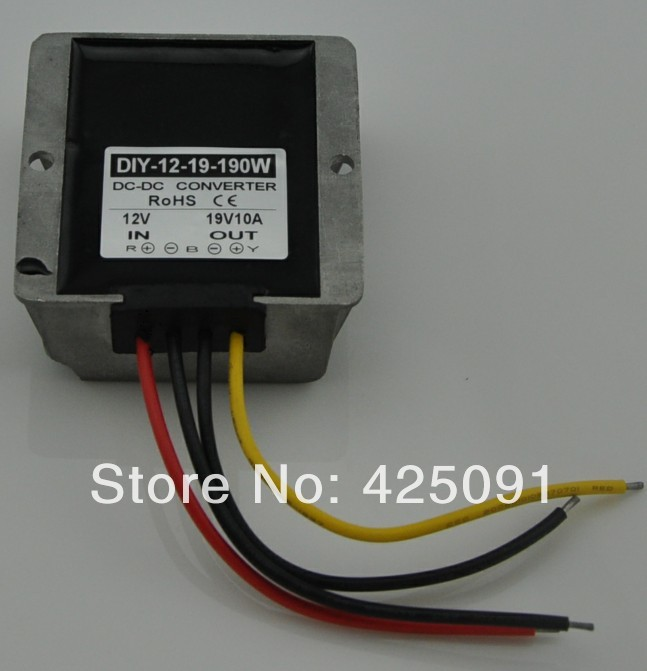 DC 12V(9V -18V) Step up to 19V 10A 190W DC Converter Module Car Power Adaptor Regulator RoSH CE