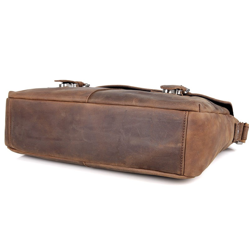 Shoulder Male Bag Әдемі Былғары Vintage Ерлер - Сөмкелер - фото 3