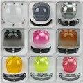 3 snap viseira bolha motorcycle bubble shield visor vintage helmet lens shield glasses for LS2 THH BEON BELL all 3 snap helmet