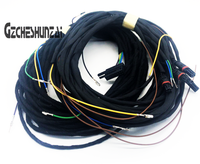 CHESHUNZAI Keyless Entry KESSY system cable harness Wire Cable For Audi A4 B9 2016 2017 2018