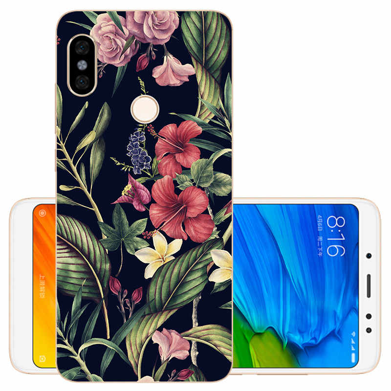 CROWNPRO Capas FOR Xiaomi Redmi Note 5 Note5 4G+64G Case Cover Silicone Cellphone TPU Soft For Redmi Note 5 6 PRO Back Protector