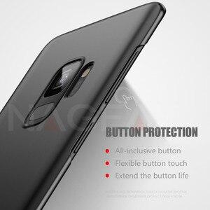 Image 4 - NAGFAK Luxury Matte Hard Phone Case For Samsung Galaxy S9 S9Plus S8 S8Plus S7 S6 Edge Cover Ultra Thin PC Plastic Phone Bag Case