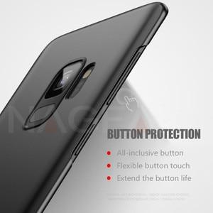 Image 4 - NAGFAK 高級マットハード電話ケース S9 S9Plus S8 S8Plus S7 S6 エッジカバー超薄型 Pc プラスチック電話バッグケース