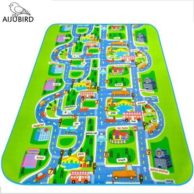 City road Carpet Toys For Kids Rugs Baby font b Play b font font b Mats