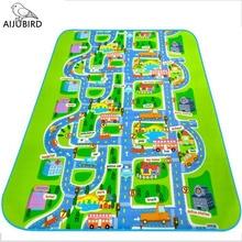 City road Carpet Toys For Kids Rugs Baby Play Mats Baby Toys Developing Children's urban rail transportation game Carpet Eva
