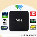 M8S Amlogic S812 Chipset set-top box 4 K Caixa Android 2G/8G XBMC Dual band 2.4G/5G wi-fi Full HD Android 4.4 Smart TV Receiver