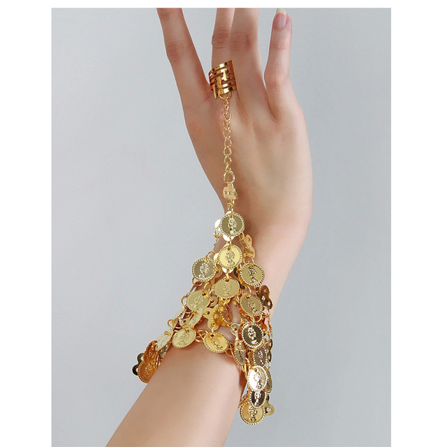 1 Pair Dance Bracelets Jewelry Set Indian Accessories Wear Bollywood