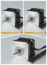 Free shipping from Germany! ACT 3PCS Nema17 Stepper Motor 17HS4417 2Phase 56oz-in 40mm 1.7A CE ROSH ISO 3D Printer DE Free