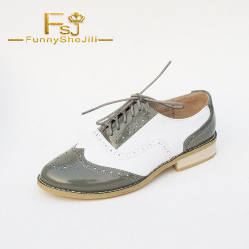 Navy Lace Up Flats Womens Oxfords School Shoes Spring Autumn Shallow Attractive Incomparable Noble Generous Sexy Fsj Elegant 2019 New Fashion Style Online Women's Flats