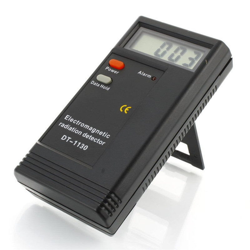 DT-1130 CE Certificated Digital LCD Electromagnetic Radiation Detector EMF Meter Dosimeter Tester gmv2s geiger counter nuclear radiation detector personal dosimeter beta gamma x ray with alarm 2 4 tft lcd radioactive detector