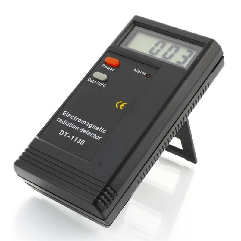 DT-1130 CE Certificated Digital LCD Electromagnetic Radiation Detector EMF Meter Dosimeter Tester tes 1333 solar power meter digital radiation detector solar cell energy tester