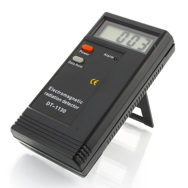 Portable electromagnetic radiaton detector dt-1130 lcd 50hzd.