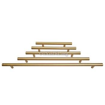 Hohe Qualität 4 STÜCKE Europäischen Massivem Messing Kabinett Zieht Griffe Küchenschrank Kleiderschrank Schublade Tv-schrank Tür Griffe und Knöpfe