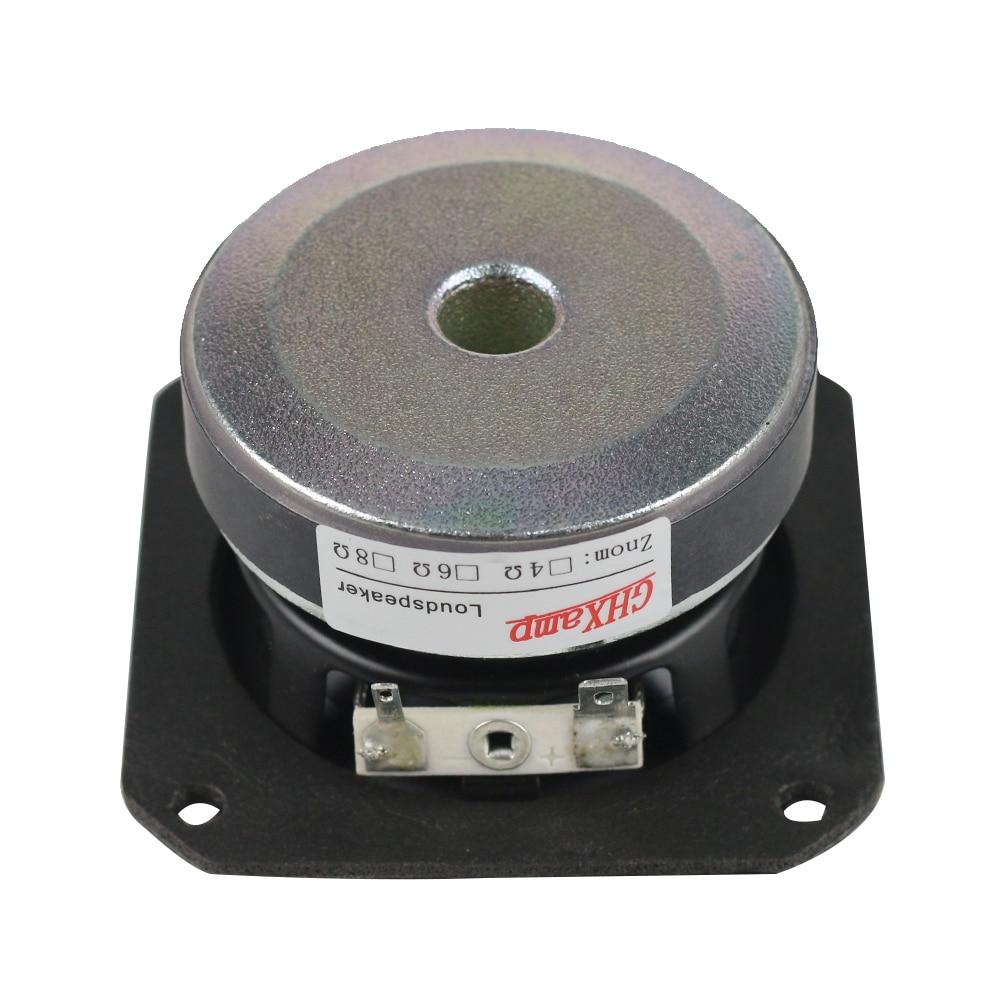Ghxamp 3 дюймов 4ohm 40 Вт полный спектр Динамик резиновая твитер СЧ НЧ-динамик низких частот peerless Динамик Bluetooth DIY