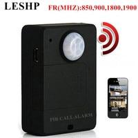 LESHP Mini PIR Alarm Sensor A9 Infrared GSM Wireless Alarm High Sensitivity Monitor Motion Detection Anti