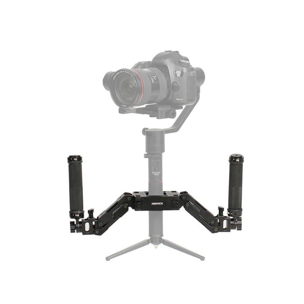 Flexible Absorption Des Chocs poignée de caméra Grip Support Guidon avec Printemps Amortissement Bras pour Feiyu a1000/a2000 RC Modèle Jouets Passe-Temps