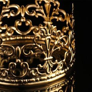 Image 4 - 1PC 티아라 골드 컬러 크라운 케이크 토퍼 장식 장식 우아한 웨딩 케이크 공주 생일 Decoratio 파티 용품 A3