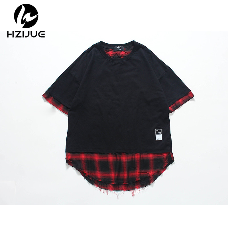 257c5a07648f2 HZIJUE 2018 nueva camiseta Knaye para hombre Justin Bieber moda Hip Hop  marca manga corta High Street Tops camisetas Homme hombre Camiseta en Camisetas  de ...