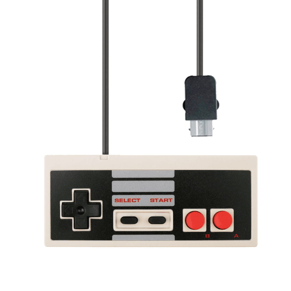 ViGRAND high quality new 1pcs Classic Wired Game Controller JOYSTICK compatible for Nintendo for mini NES Classic Edition