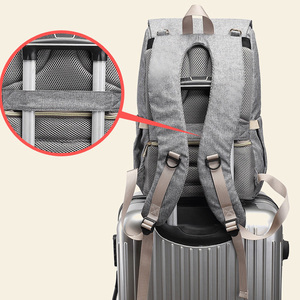 Image 3 - USB Rechargeable Independent Insulation Backpack Diaper Bag Waterproof Travel Bags Baby Stroller Nappy Bag Daddy Large Capacity