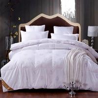 220 240 King Size 3D Design Duck Down Comforter Quilt Winter Duck Quilt 4 5kg Filler
