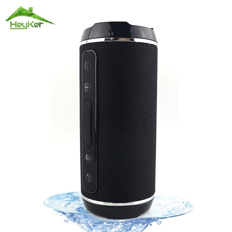 10 w Impermeabile Senza Fili di Bluetooth Altoparlanti Portatili Outdoor Bass Colonna Altoparlante Soundbar Aux/tf/fm Radio Boombox Per xaomi