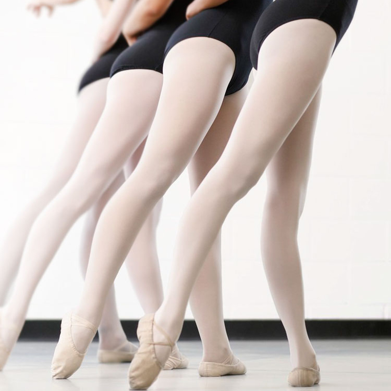 Dance tights women footed ballet kids convertible microfiber pantyhose Professional tap stockings