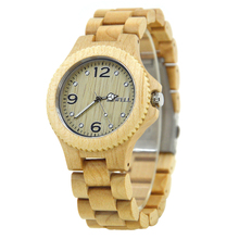 BEWELL Lovers Ebony Wood Watches Natural Wooden Band Men Women Clock Simple JapanQuartz Movement Large Number Wristwatch 038A