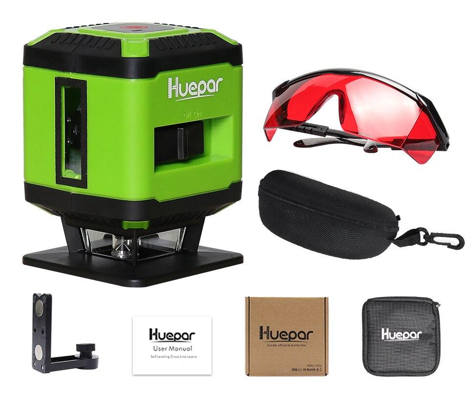 Huepar Rouge Faisceau Laser Au Sol Niveau pour Pose De Carrelage ... 361f51e158e6