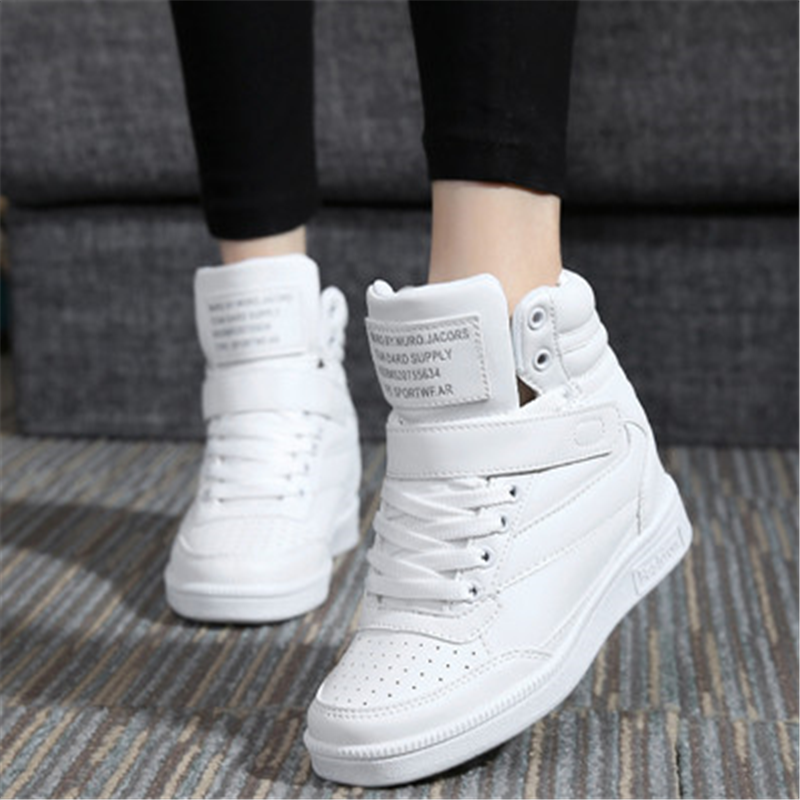 Women casual shoes spring autumn comfortable black white pink outdoor anti-skid sneakers jogging adults Cotton boots