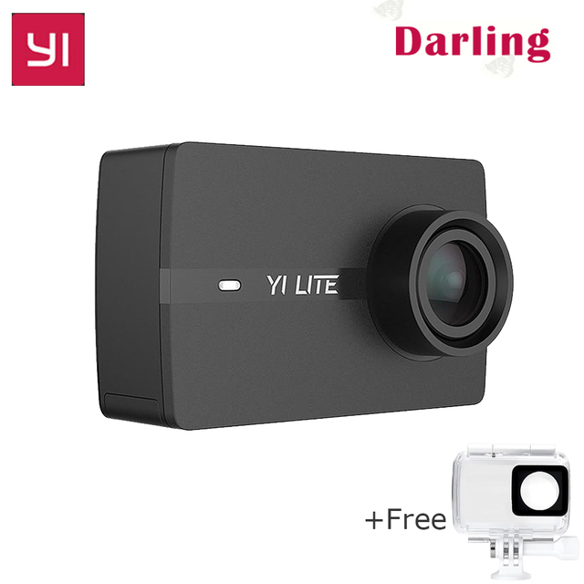 International original YI Lite 4K Action Camera 1080P 60fps WIFI Bluetooth  with Waterproof Touch Screen Sport DVRs vs Gopro cam-in DVR/Dash Camera