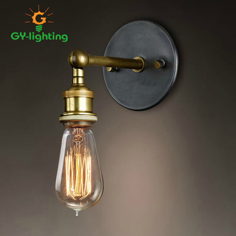 Retro Light Fixtures Classic Loft Wall Lamp Edison Wall Lights For Home Lighting Industrial Wall Sconce Lamparas De Pared america rope vintage wall lights fixtures in style loft industrial wall lamp edison wall sconce wandlamp lamparas aplik