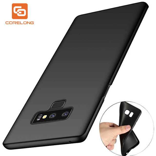 Ultra Thin Matte Case for Samsung Galaxy S10 Plus S9 S8 Plus Note 9 8 Galaxy A5 A3 2017 J5 J7 A7 C7 C9 s8 s9 plus Silicone Cover