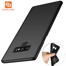 Ultra Thin Matte Soft Silicon TPU Case for Samsung Galaxy Note 9 8 S8 S9 Plus S7 Edge Case J5 J7 Prime A3 A5 A7 2016 2017 Cover(China)
