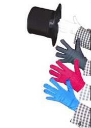 Color Changing Gloves,A multiple Quick Change with gloves!magic tricks,stage,mentalism,Accessories,illusions,comedy vanishing radio stereo magic tricks professional magician stage gimmick props accessories comedy illusions