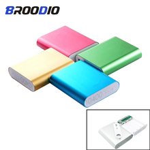 Power Bank Case 4×18650 Battery Holder For Mobile Phone Charger Box DIY Kit 18650 USB Charging Storage Shell For Xiaomi universal usb power bank case kit diy 1x 18650 battery charger box diy for samsung xiaomi mobile phone whole sale