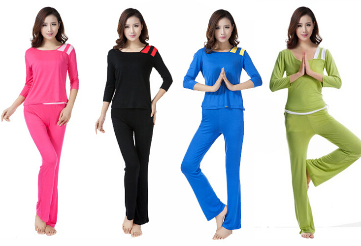 de95967db1ade 2pc sets Plus size Sexy yoga sets women gym clothes Fitness Tops pants women  sports Causal fashion dance wear sports clothing on Aliexpress.com