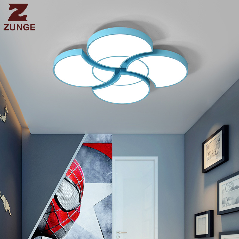 ZUNGE led ceiling lamps romantic creative P342 simple modern children room lamps of boys and girls bedroom lamp