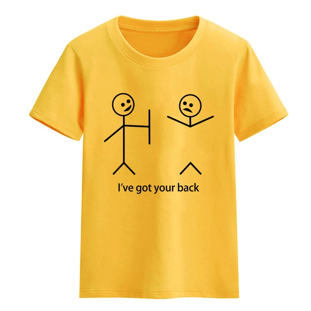 0df5b374a7 Funny printed I've Got Your Back child T-shirts for girls kids clothes for  boys 2018 summer T-shirt baby clothes fashion t shirt