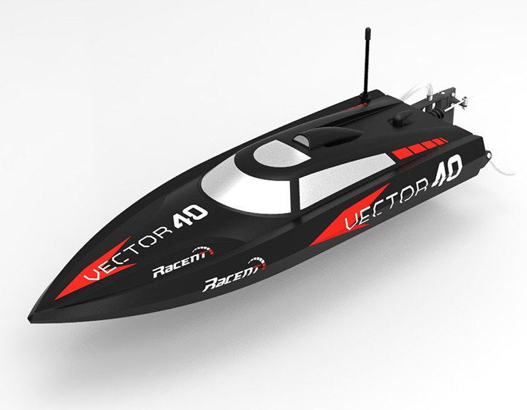 Volantexrc Vector40 V797-1 Brushless High Speed Racing 40km/h RC Boat RTR 2.4GHz  F15967 / F15968