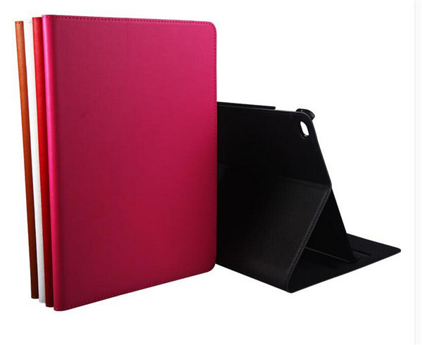 Fashion Luxury Filp Genuine Leather Book Case For Apple iPad Air 2 Air2 iPad 6 Smart Protective Skin Case With Stand
